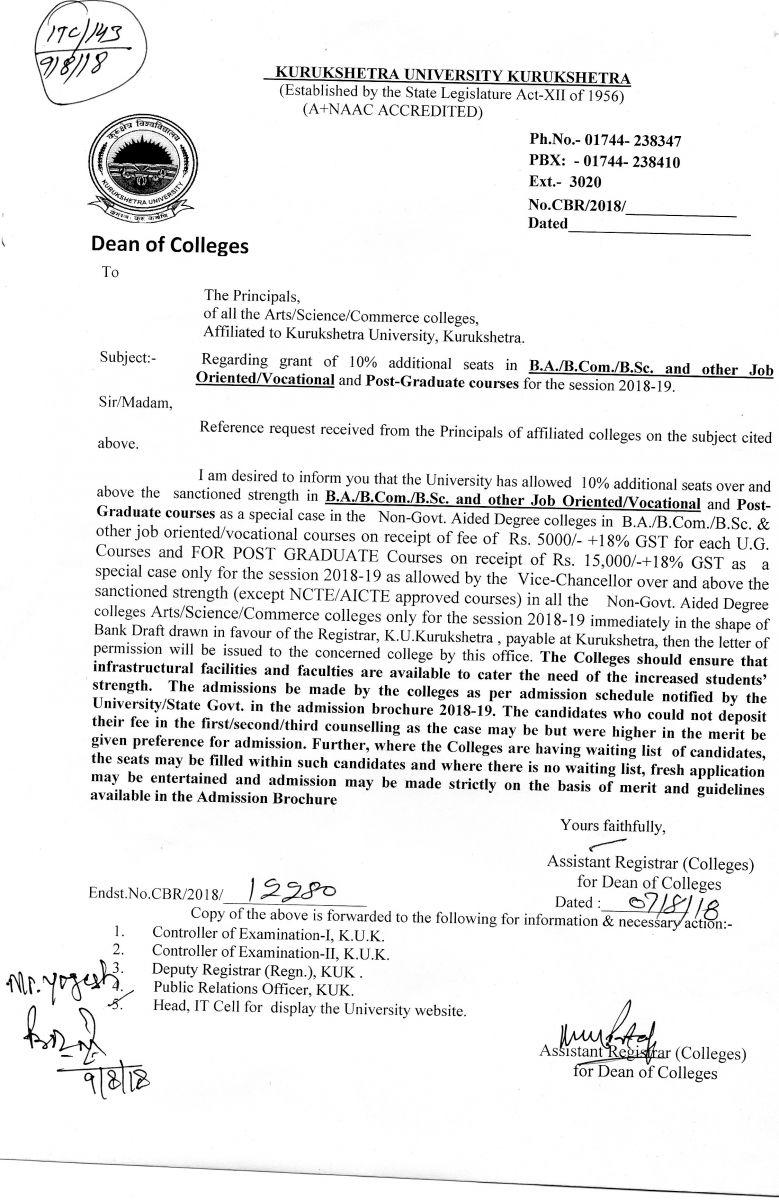 Kurukshetra University :: Kurukshetra